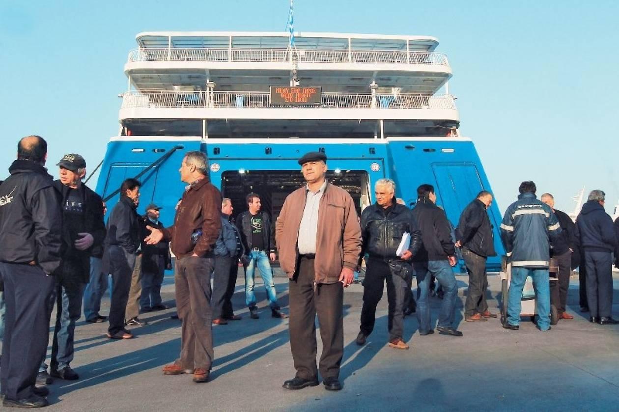 ΠΝΟ: Καθολική η συμμετοχή των ναυτεργατών στην απεργία