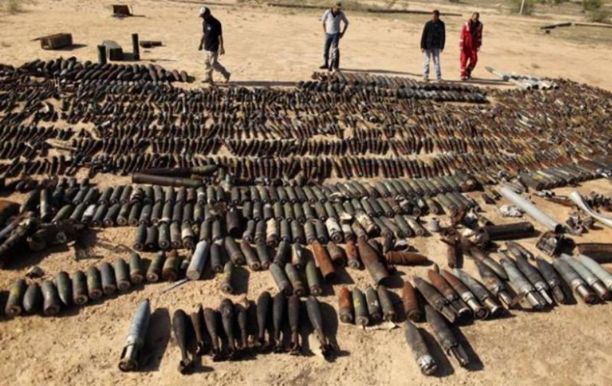 Με τη βοήθεια του Ιράκ η καταστροφή των χημικών της Λιβύης