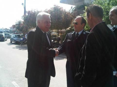 Ο Χ. Μαγκούφης επισκέφθηκε τις δημόσιες υπηρεσίες Τρικάλων