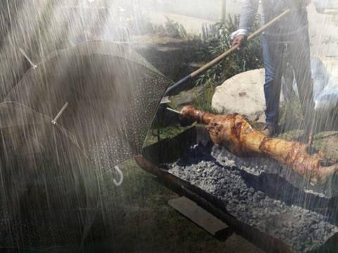 Σούβλισμα με ομπρέλες