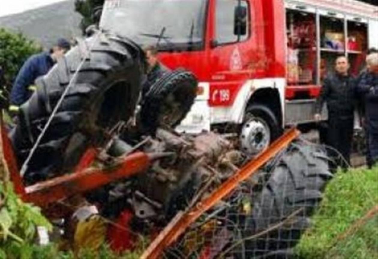 Τραγωδία: Αγρότης καταπλακώθηκε από τρακτέρ