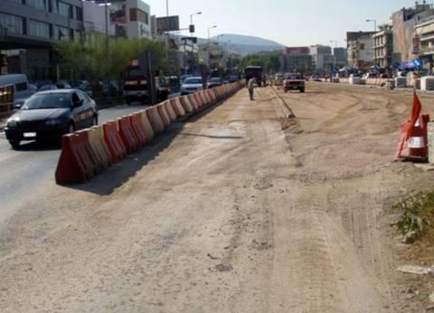 Κυκλοφοριακές ρυθμίσεις στη Λ. Αθηνών