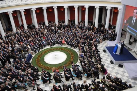 Α. Σαμαράς: Οι φόροι σε ύφεση γεμίζουν την Ελλάδα λουκέτα
