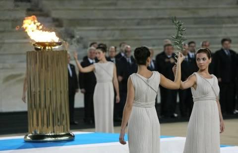 Το Καστελόριζο στους σταθμούς της Ολυμπιακής Φλόγας
