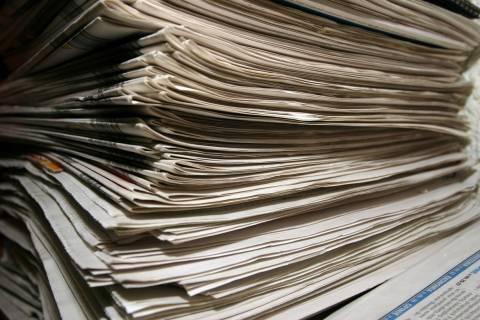 Δείτε τις εφημερίδες με ένα κλικ