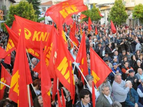 Οι προεκλογικές συγκεντρώσεις του ΚΚΕ