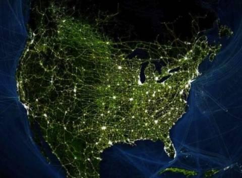 Δείτε σε βίντεο το συγκοινωνιακό δίκτυο της Γης!