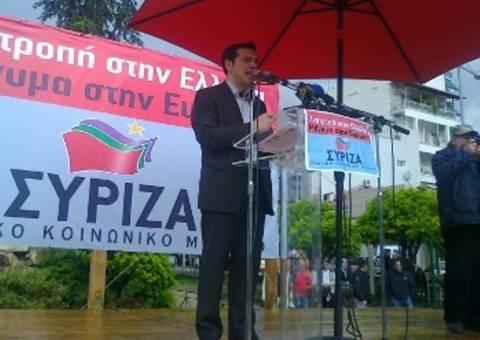 Κάλεσμα Τσίπρα για κυβέρνηση αριστερής συνεργασίας