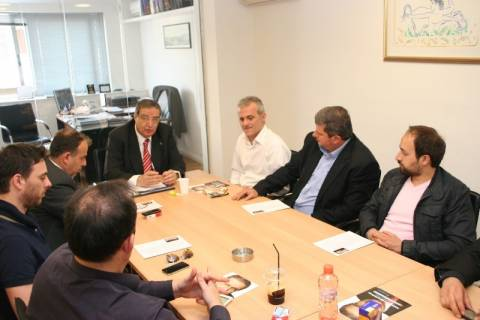Συνάντηση Μωραϊτάκη με την Ένωση Αστυνομικών Υπαλλήλων