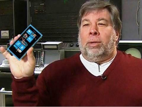 Ο Στιβ Βόζνιακ βρίσκει το Windows Phone πιο όμορφο από το Android