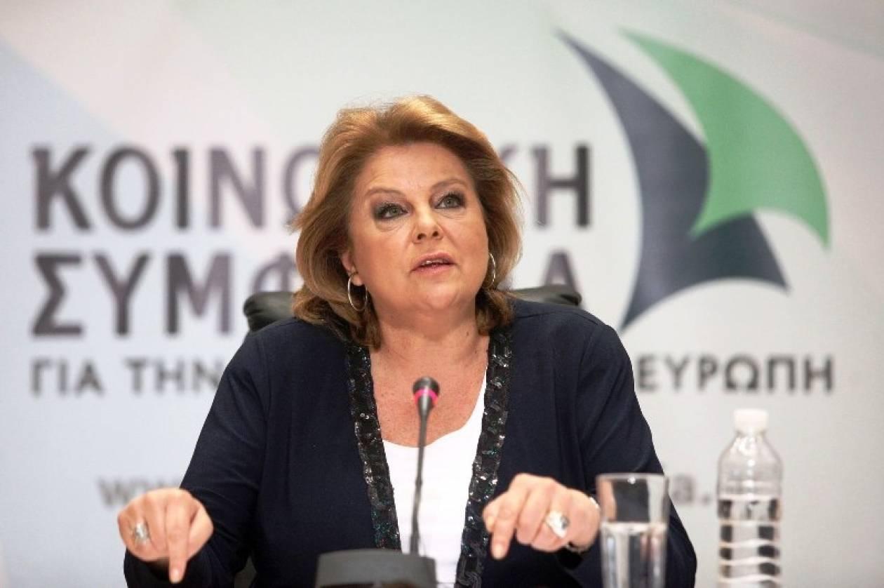 Κατσέλη: Ψευδεπίγραφο το δίλλημα περί ακυβερνησίας