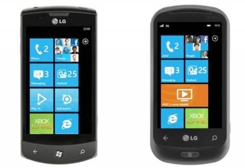Η LG «παγώνει» την κατασκευή Windows Phones