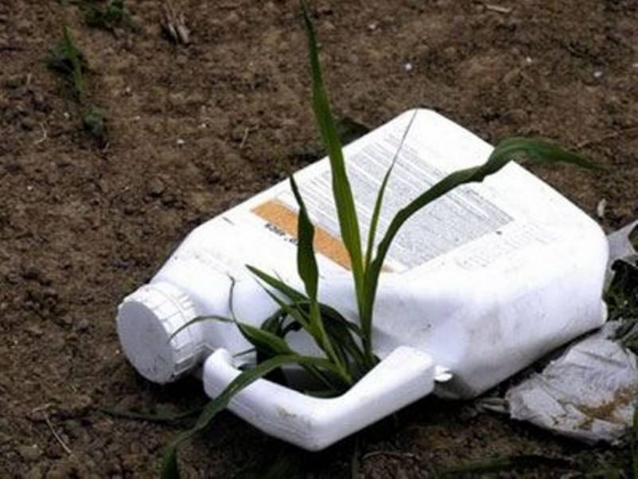 Μισός τόνος επικίνδυνα φυτοφάρμακα στις Σέρρες