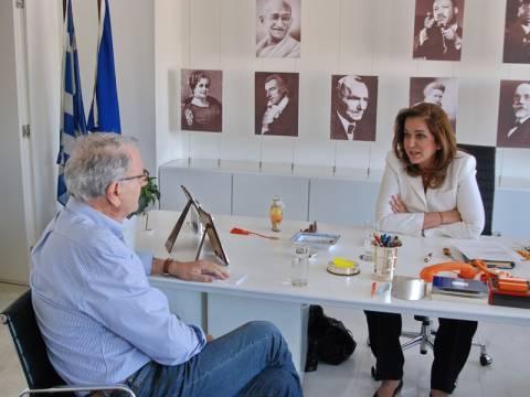 Ντόρα Μπακογιάννη: Δεν επενδύω στην οργή των πολιτών για ψήφους