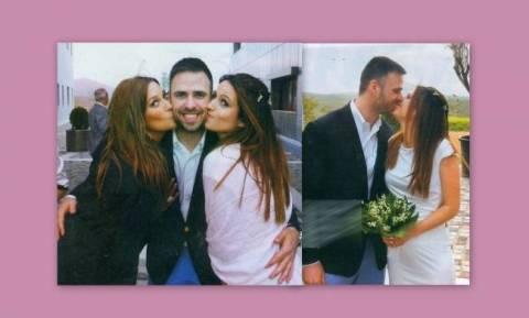 Φωτογραφίες από το γάμο του αδερφού της Χρηστίδου!