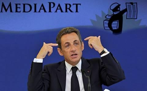 Η Mediapart μηνύει τον Σαρκοζί