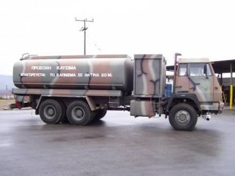 Ελεύθεροι οι συλληφθέντες για τη λαθρεμπορία καυσίμων σε στρατόπεδο