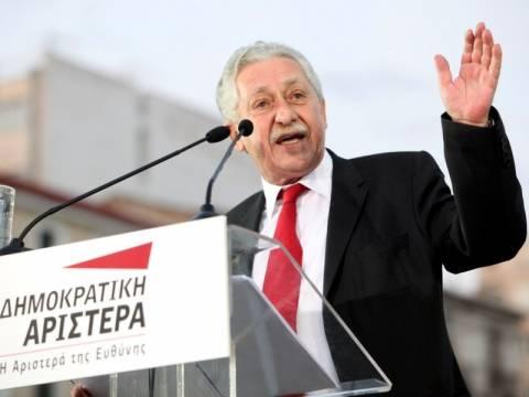 Φ. Κουβέλης: Να ακυρωθεί η πολιτική ΠΑΣΟΚ και ΝΔ