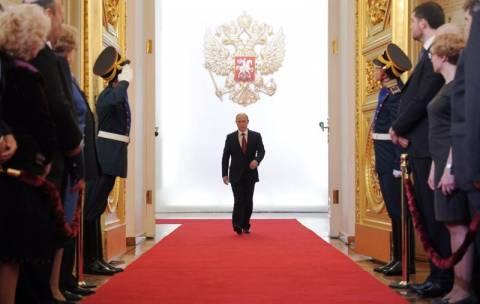 Ορκωμοσία Πούτιν με δεκάδες συλλήψεις
