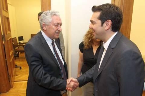 Ο Κουβέλης στηρίζει Τσίπρα για κυβέρνηση της Αριστεράς