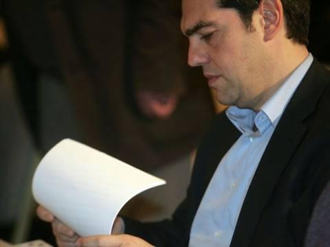 Τσίπρας προς Ευρωπαίους: Δεν ισχύουν οι υπογραφές Βενιζέλου-Σαμαρά