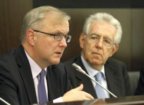 Μόντι: Η Ευρώπη θα υιοθετήσει σύντομα τα ευρωομόλογα