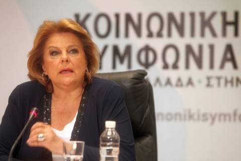 Σύμπραξη των δυνάμεων της Αριστεράς προτείνει η Λ. Κατσέλη