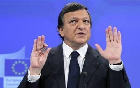 Μπαρόζο: «Καμία επαναδιαπραγμάτευση του δημοσιονομικού συμφώνου»