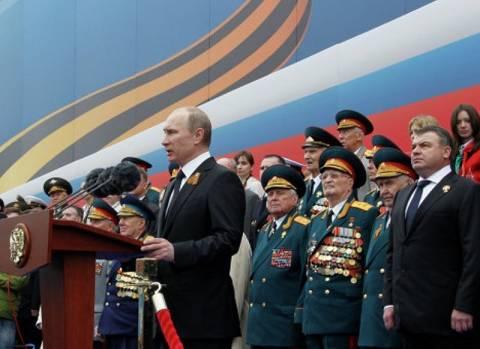 Η παρέλαση για την αντιφασιστική νίκη στη Μόσχα