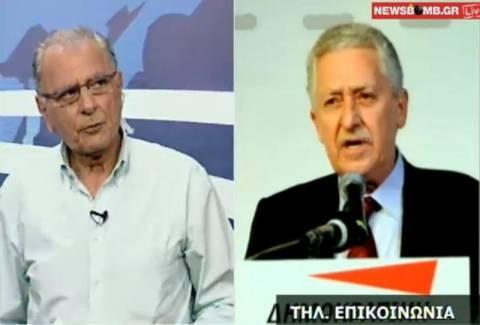 Φ. Κουβέλης: Χαραμάδα ελπίδας για συμμετοχή του ΣΥΡΙΖΑ σε κυβέρνηση