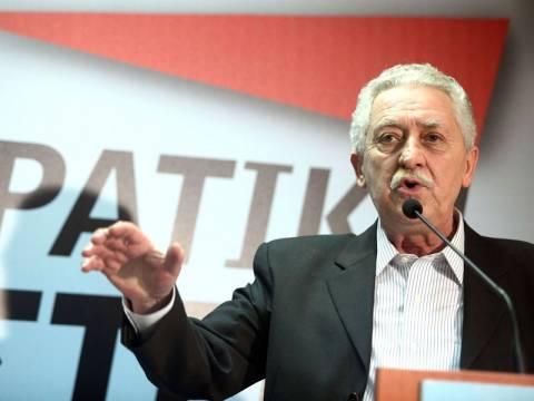 Όχι Κουβέλη σε κυβέρνηση ΠΑΣΟΚ - ΝΔ χωρίς ΣΥΡΙΖΑ