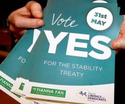 Υπέρ του Δημοσιονομικού Συμφώνου οι Ιρλανδοί
