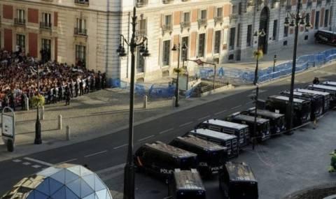 Συλλήψεις στην Πουέρτα δελ Σολ της Μαδρίτης