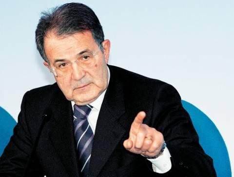 Πρόντι: Χάρτινος πύργος η Ευρωζώνη αν βγει η Ελλάδα