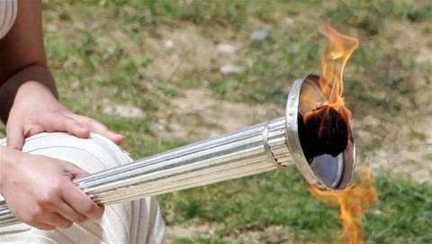 Η Ολυμπιακή Φλόγα στη Θεσσαλονίκη