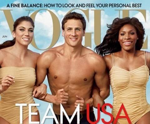 H Vogue στο πνεύμα των Ολυμπιακών Αγώνων