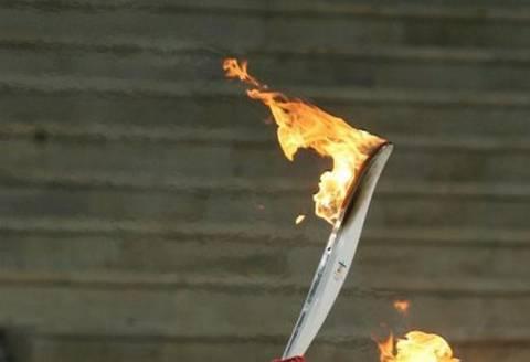 Η Ολυμπιακή Φλόγα στον Βόλο (video)