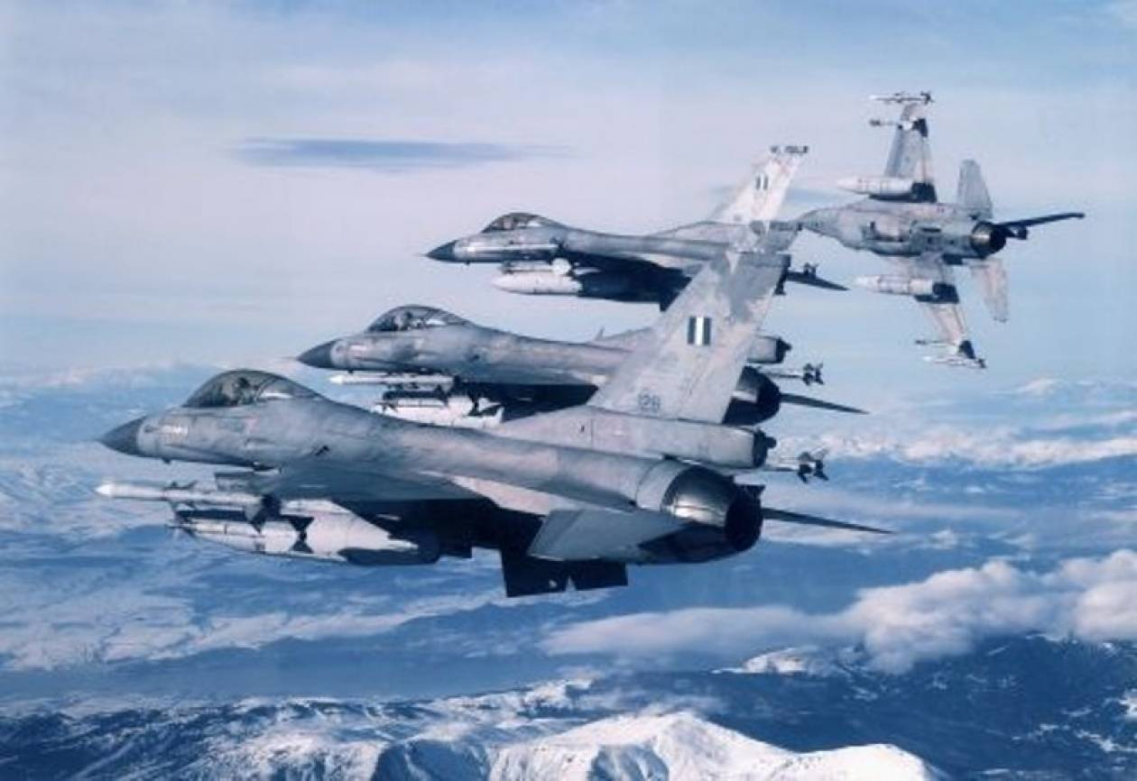 Τα μαχητικά μας αεροσκάφη «σκέπασαν» τον ουρανό