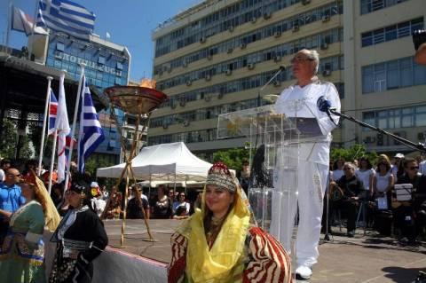 Στον Πειραιά η Ολυμπιακή Φλόγα!