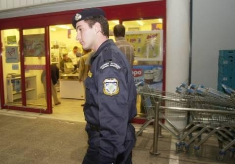 Ένοπλη ληστεία σε σούπερ μάρκετ στο Ηράκλειο Αττικής