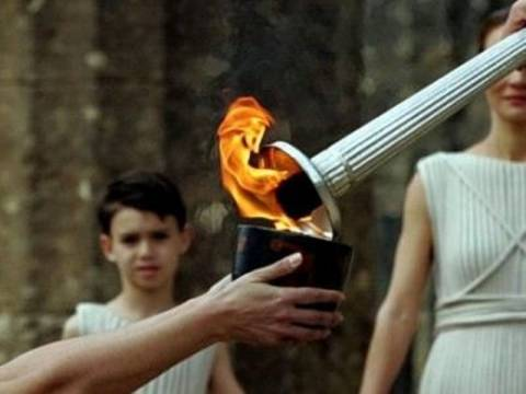 Σήμερα η λαμπρή τελετή παράδοσης της Ολυμπιακής Φλόγας