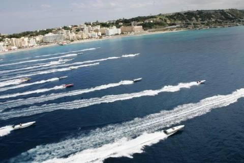 Το Πανελλήνιο Πρωτάθλημα φουσκωτών σκαφών στη Ρόδο