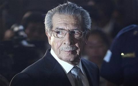 Σε νέα δίκη για γενοκτονία ο πρώην δικτάτορας Εφρέν Ρίος Μοντ