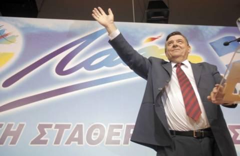 Γ. Καρατζαφέρης: Ο Βελόπουλος ήταν ρουφιάνος του κόμματος
