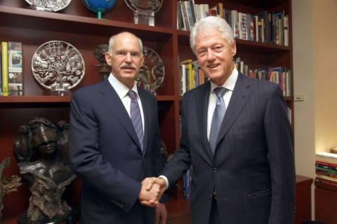 Με τον Μπιλ Κλίντον συναντήθηκε ο Γιώργος Παπανδρέου