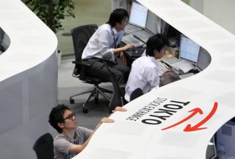 Με «πράσινους» δείκτες άνοιξε η Ιαπωνία