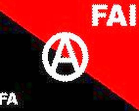 Η Ιταλική αναρχική οργάνωση FAI αποτελεί απειλή για την Ελλάδα