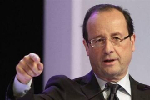 Οι Γάλλοι στηρίζουν τον Ολάντ
