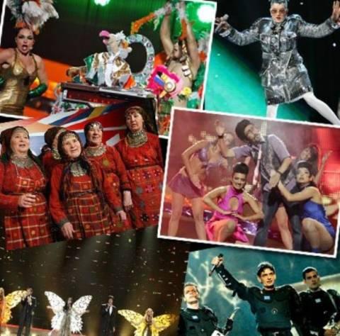 Διαγωνισμός Eurovision: οι πιο κακοντυμένες εμφανίσεις των τελευταίων