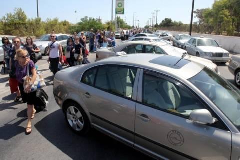 Ανεστάλη η απεργία των ταξί στο Ηράκλειο Κρήτης